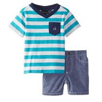 Conjunto Calvin Klein Niños 12 Meses, Bebes, Niños 2 Piezas