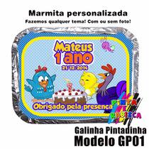 100 X Marmitas Personalizadas / Marmita Alumínio