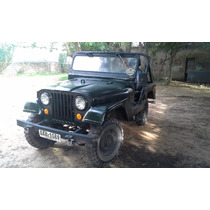 Vendo Jeep Willys Cj5 1956 Motor Toyota Nafta 2.0