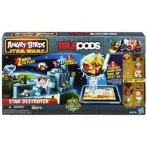 Angry Birds Star Wars Cápsulas Star Destroyer Set! Hasbro