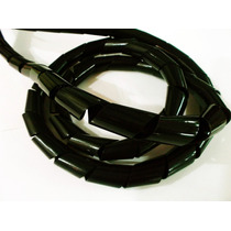 Cable Organizador Retractil 1/2 Negro 10 Mts Para Pc