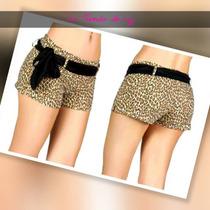 Shorts Con Cinturon De Tela.al Mayor.leer Dscripcion