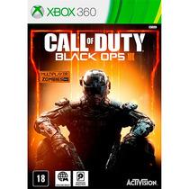 Call Of Duty Black Ops 3 Xbox 360 .em Portugues Midia Fisica