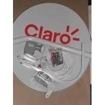 Kit Antena 60cm Ku Com Lnb Simples+20m Cabo