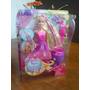 Barbie Reino De Peinados Mágicos - Origanl Mattel