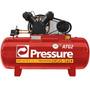 Compressor De Ar 15-175l C/ Motor 3hp Atg2 127/220v Pressure