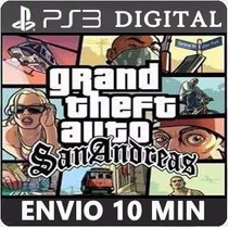 Gta San Andreas Ps3 Psn Codigo Cod Digital