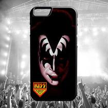 Protector Carcasa Iphone - Gene Simmons Kiss