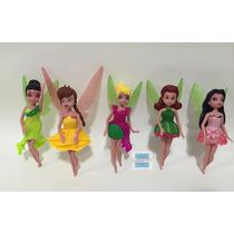 5 Bonecas Sininho Tinker Bell Aventura No Mundo Das Fadas