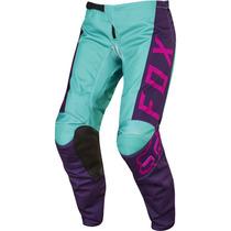 Pantalón Fox Mujer 2017 180 Morado Con Rosa, Motocross, Atv