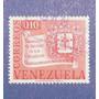 Estampilla Venezuela 0.10 Cuatricentenario Mérida 1968