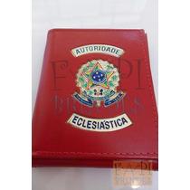 Porta Cédulas Brasão República Autoridade Eclesiástica C19v