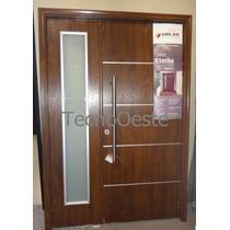 Puerta Y Media Residencial Lateral Oblak Eterna 1183 Premium