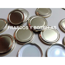 Tapa Frasco De Mermelada Axial Metalica Diametro 63 Mm X 50