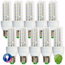 Kit 10 Lampada De Super Led 7w Residencial Original Bivolt !