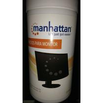 Paños Humedos Para Limpiar Monitor Manhattan No Dañan Pantal