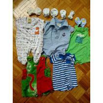 5 Prendas De Ropa Para Bebés 0-3meses Y 4 Pares De Guantes