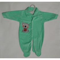 Macacão Bebê Aplique Plush