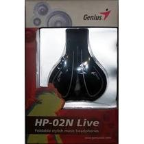 Audifonos Genius Hp-02 N Live