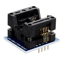 Adaptador Soic8 Sop8 A Dip8 200mil 208mil Zif Smd Eeprom