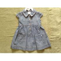 Vestido Jeans Carters 100% Original 12 Meses