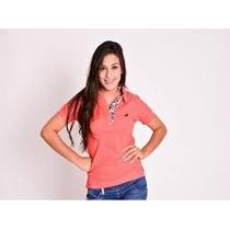 Camisetast-shirt Blusa Gola Polo Feminina Kit Com 10 Peças