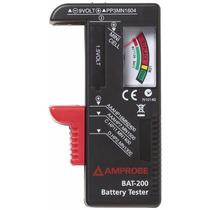 Amprobe Probador De Baterías Tester Bat-200