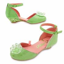 Zapatos Disfraz Tinkerbell Campanita Disney Store Original