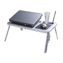 Mesinha Para Laptop Notebook Portátil Dobrável Com Cooler