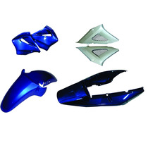 Carenagem Kit Completo Cbx 250 Twister Azul 2004