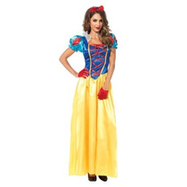 Disfraz Mujer Princesa Blanca Nieves Disney Halloween Adulto