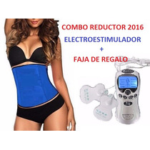 Combo Reductor Verano 2017 Electrodo + Faja Tv