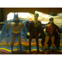 Lote X 3 Muñeco Super Amigos Powers Batman Robin Joker Kxz