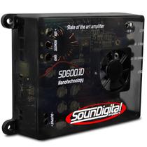 Modulo Sd600.1 Soundigital Mono Amplificador 600w Rms Som