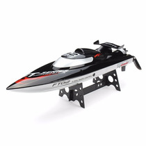 Barco Rc Corrida Controle Remoto Ft012 2.4g Motor Brushless