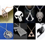 Collares Assassins Creed, The Punicher, Skyrim, Ff Y Mas