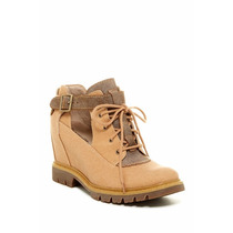 Caterpillar Helena Lace-up Wedge Boot