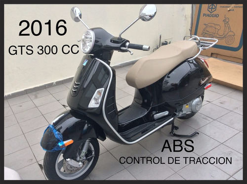 Moto Vespa Gts 300 Nueva, 2016 form
