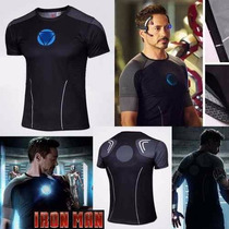 Camisa Homem De Ferro ( Iron Man ) Tony Stark Pronta Entrega