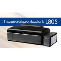 Impressora Epson L805 Tanque Substitui L800 Imprim Cd