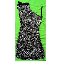 Vestido Animal Print (talla Ajustable) Cebra