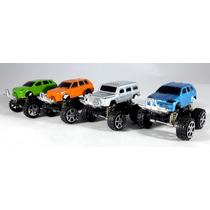 Carritos Todo Terreno De Juguete - 4 Camionetas