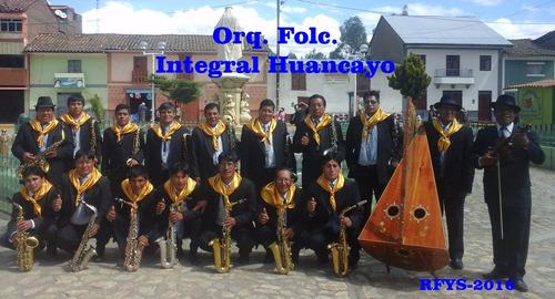 Orquesta Folclórica  Show Integral  Huancayo-perú - S/. 2.300,00 en Mercado Libre
