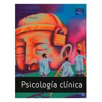 Psicología Clínica Autor Butcher