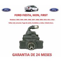 Bomba Licuadora Direccion Hidraulica Ford Fiesta, Ikon 2008