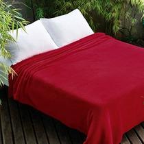 Manta Microfibra Jolitex Casal Vermelho 1,80 X 2,20 Dyuri.