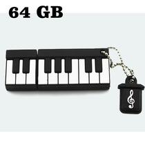 Memoria Usb 64 Gb De Teclado De Piano