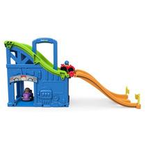 Pista De Carreras Fisher-price Little People Multicolor