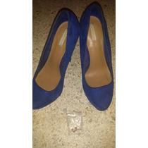 Zapatos Azul Y Rosados Altos / Tacon / Plataforma Bershka