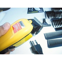 Maquina Corta Cabelo Barba Profissional 17pçs 110w